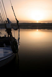 Sunrise at the Nile River